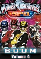"""Power Rangers S.P.D."" - DVD movie cover (xs thumbnail)"