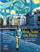 Midnight in Paris - Brazilian Blu-Ray movie cover (xs thumbnail)
