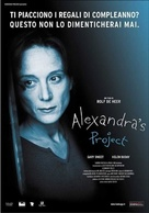 Alexandra's Project - Italian Movie Poster (xs thumbnail)