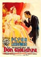 Adventures of Don Juan - Italian Movie Poster (xs thumbnail)