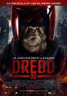 Dredd - Argentinian Movie Poster (xs thumbnail)