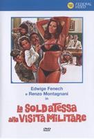 La soldatessa alla visita militare - Italian DVD cover (xs thumbnail)