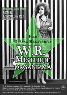 W.R. - Misterije organizma - Croatian Movie Poster (xs thumbnail)