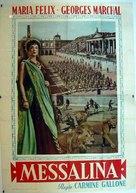 Messalina - Italian Movie Poster (xs thumbnail)