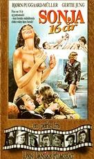 Sonja - 16 år - Danish VHS cover (xs thumbnail)