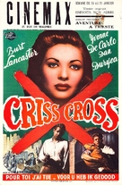 Criss Cross - Belgian Movie Poster (xs thumbnail)