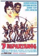 Siete espartanos, Los - Spanish Movie Poster (xs thumbnail)