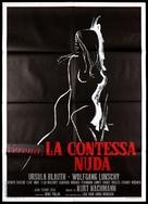 Die nackte Gräfin - Italian Movie Poster (xs thumbnail)