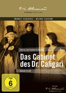 Das Cabinet des Dr. Caligari. - German DVD cover (xs thumbnail)