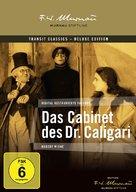 Das Cabinet des Dr. Caligari. - German DVD movie cover (xs thumbnail)