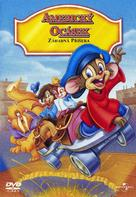 An American Tail: The Mystery of the Night Monster - Czech DVD cover (xs thumbnail)