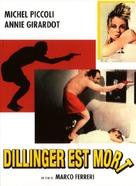 Dillinger è morto - French DVD movie cover (xs thumbnail)