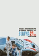 Ford v. Ferrari - Serbian Movie Poster (xs thumbnail)