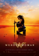 Wonder Woman - Spanish Movie Poster (xs thumbnail)