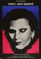 Quatre nuits d'un rêveur - Polish Movie Poster (xs thumbnail)
