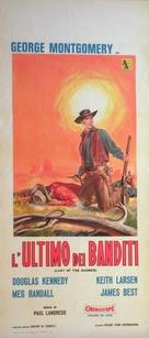 Last of the Badmen - Italian Movie Poster (xs thumbnail)