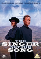 The Singer Not the Song - British DVD cover (xs thumbnail)