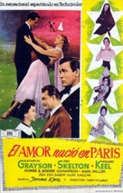 Lovely to Look at - Spanish Movie Poster (xs thumbnail)
