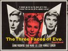 The Three Faces of Eve - British Movie Poster (xs thumbnail)