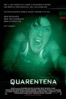 Quarantine - Brazilian Movie Poster (xs thumbnail)