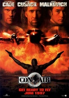 Con Air - German Movie Poster (xs thumbnail)