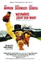 Paint Your Wagon - German Movie Poster (xs thumbnail)