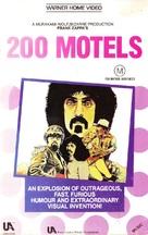 200 Motels - Australian VHS movie cover (xs thumbnail)