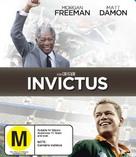 Invictus - New Zealand Blu-Ray movie cover (xs thumbnail)