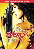 Everly - Brazilian DVD movie cover (xs thumbnail)