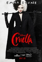 Cruella - British Movie Poster (xs thumbnail)