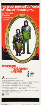 Escape from the Planet of the Apes - Theatrical movie poster (xs thumbnail)
