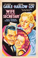 Wife vs. Secretary - Movie Poster (xs thumbnail)