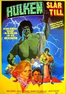 The Incredible Hulk: Married - Swedish Movie Poster (xs thumbnail)