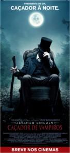 Abraham Lincoln: Vampire Hunter - Brazilian Movie Poster (xs thumbnail)