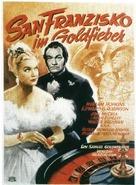 Barbary Coast - German Movie Poster (xs thumbnail)