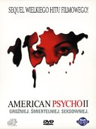 American Psycho II: All American Girl - Polish Movie Cover (xs thumbnail)