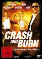 Crash and Burn - German Movie Cover (xs thumbnail)
