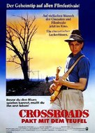 Crossroads - German Movie Poster (xs thumbnail)