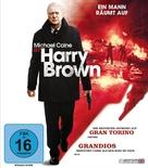 Harry Brown - German Blu-Ray movie cover (xs thumbnail)