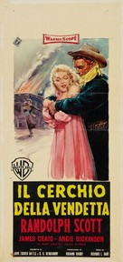 Shoot-Out at Medicine Bend - Italian Movie Poster (xs thumbnail)