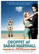 Forgetting Sarah Marshall - Danish Movie Poster (xs thumbnail)