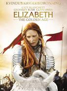 Elizabeth: The Golden Age - Danish Movie Poster (xs thumbnail)