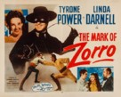 The Mark of Zorro - Re-release poster (xs thumbnail)