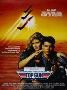 Top Gun - French Movie Poster (xs thumbnail)