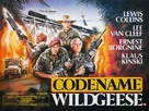Geheimcode: Wildgänse - British Movie Poster (xs thumbnail)