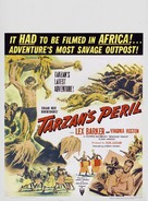 Tarzan's Peril - Movie Poster (xs thumbnail)