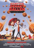 Cloudy with a Chance of Meatballs - Dutch Movie Poster (xs thumbnail)