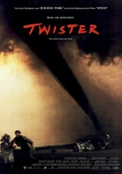 Twister - German Movie Poster (xs thumbnail)
