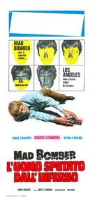 The Mad Bomber - Italian Movie Poster (xs thumbnail)