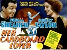 Her Cardboard Lover - Movie Poster (xs thumbnail)